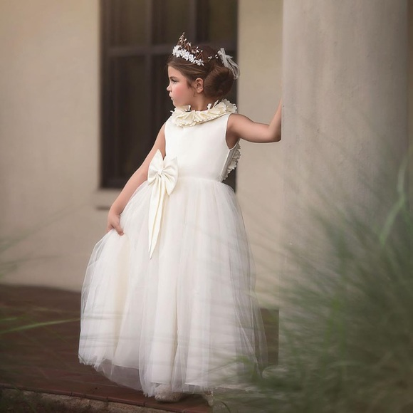 51919ac5377 Trish Scully Child Gown for little girls. M 5c7dfc77819e90b70d312062